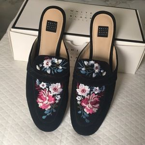 WHBM / MINNY Embroidered Loafer